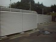 目隠しフェンス設置工事